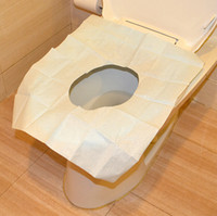 Cheap Travel disposable toilet seat cover mat 100% waterproof toilet paper pad biocontrol seat toilet paper monolithic assembly JG2