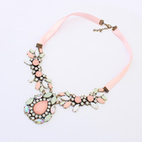 Cheap party necklace Best  jewelry display free shipping
