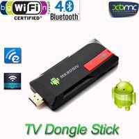 analog dongle - High quality Android TV Stick Dongle Quad Core RK3188T G GB XBMC Bluetooth DLNA Wifi Mini PC MK809IV TV Box Player V834