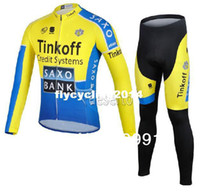 cycling jersey wholesale - new Saxo Bank jersey cycling and Cycling Pants sets Saxo Bank Team cycling jersey clothing