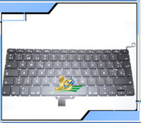 Wholesale 100 NEW SP Spanish Spain Keyboard For Macbook Pro quot A1278 SP Spanish Spain keyboard