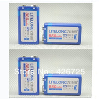 9 volt batteries - 4PCS mAh v li ion lithium Rechargeable Volt Battery for mike Manufacturer s Years Warranty