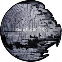 animate death - 4 quot STAR WARS Death Star Darth Vader Empire Sith TV Movie Animated Costume Embroidered Emblem punk applique iron on patch