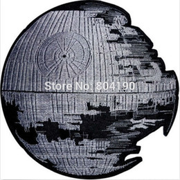 Wholesale 4 quot STAR WARS Death Star Darth Vader Empire Sith TV Movie Animated Costume Embroidered Emblem punk applique iron on patch