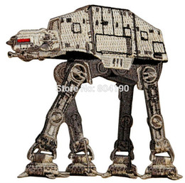 Wholesale 3 quot Star Wars Movie Imperial Walker Service TV Movie Animated Costume Embroidered Emblem punk applique iron on patch