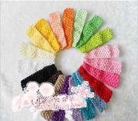 1.5 crochet headbands - Hot Sale Inch cm Crochet Stretch Fashion Accessory Baby Infant Girls Headbands Colors