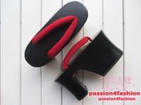 Wholesale Wooden Clogs High Heel Platform CM Japanese Geta Sandals Flip Flops Slippers Cosplay Unisex Casual