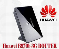 Wholesale Brand Unlocked Huawei B970b G HSDPA WCDMA Wireless Gateway USB Modem WIFI WLAN Router With SIM Card Slot Home Network Broadband