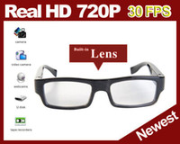 Cheap Newest Real HD 720P Candid Camera Glasses DVR Mini DV Video Recorder Eyeware video glasses up to 32gb Free Shipping