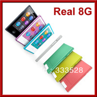 Wholesale 10pcs Real GB th Gen inch Touch Screen mp3 mp4 Player More Feature with FM Radio E book Game Photo Video