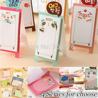 Wholesale NEW Korea stationery Pretty kawaii cartoon Sticker Post It Bookmarker memo pad flags sticky note