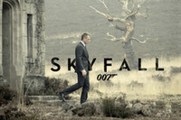 al por mayor james bond posters-Wholesale-JAMES BOND 007 SKYFALL Pósters de películas calientes 12x18 20x30 24x36inch 08