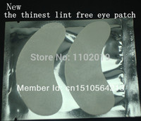 eyelash extensions - under eye pads the thinest lint free Eye Gel patches for eyelash extension from south korea pairs