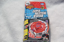Wholesale 2016 New Arrive BEYBLADE METAL FUSION DARK BULL H145SD BB40 Without Launcher