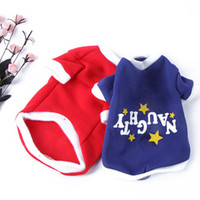 free shipping dog clothes - Dog Jacket Costume Coat Puppy Clothes Pet Christmas T Shirt Words Print Pullover amp Drop shipping