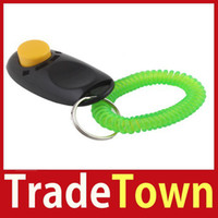 better dogs - TradeTown Dog Pet Click Clicker Training Trainer Aid Wrist Strap Better Price
