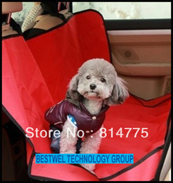 Wholesale Hot Sale Pet Dog Cat Car Seat Cover Auto Waterproof Mat Blanket Hammock Cushion Car Carrier Bed Protective Pad