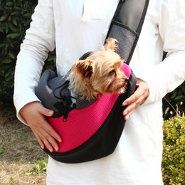 Wholesale-Free Shipping Pet Dogs Folding Bags Portable Shoulder Bag Travel Bags Backpack Cat Pack Pet Carrier Bag Pet Product