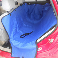 auto pet mat - Fashion pure color pet car rear seats covers for dogs cats car mats waterproof auto perros dog pad cushion length cm dropship