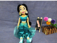 aladdin doll - Princess doll plush toys Aladdin Jasmine princess plush cm stuffed doll soft toy Princesses dolls for girls