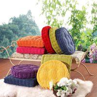 Wholesale Thick cushion office home house room chair stool sofa window tatami mats cushion colors