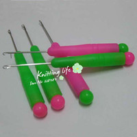 crochet hook - Plastic handle latch hook needles Carpet hook needle crochet hooks