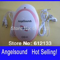 Cheap Wholesale-Angelsound Jumper 100smini Fetal Doppler Free Shipping Baby Monitor