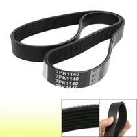auto v belt - 7PK1140 Car Auto Black Rubber Poly V Serpentine Belt