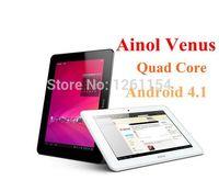 Wholesale Quad core ainol novo venus inch IPS Android GB GB Novo7 Myth dual camera tablet pc