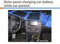 Wholesale Solar Panels power bank Folded Solar Panels battery Wh solar charger W Inverter V V solar Charger free DHL