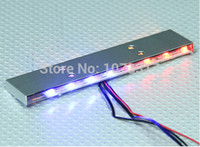 Wholesale RC Scale Police Light Bar Flashing LED Light RC remote control for Off Roader Truck LED Toys System Free Shiping