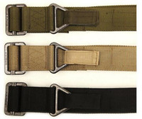 Wholesale BLACKHAWK Men s Military Army Thicken Fabric Canvas Tactical Belt Outdoor Sport Belt Waistband Free Drop Shipping