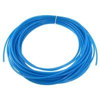 Cheap Blue 19 Meters 62.3ft 4mm x 2.5mm Pneumatic Polyurethane Air Hose Tube