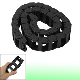 Wholesale 18mm x mm Black Flexible Cable Drag Chain Wire Carrier M