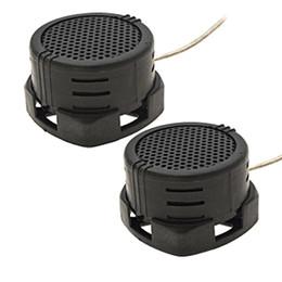Wholesale 2 x Watt Auto Car Loud Dome Tweeters Speakers Black