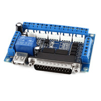 cnc stepper motor driver - Stepper Motor Driver Axis Breakout Interface Board Blue Black for Mach3 CNC