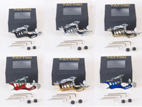 tattoo gun - SUNSKIN Aircraft Aluminium Rotary Tattoo Machine Motor Tattoo Gun Shader Liner for Tattoo Artist Supply Colors