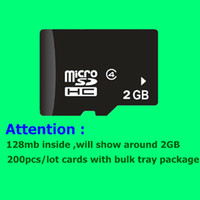 128mb micro sd card - 200pcs MB GB hot sale Upgarde memory micro sd cards