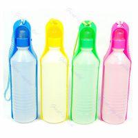 Wholesale Pet Dog Portable Travel Hiking Water Bottle Bowl ml
