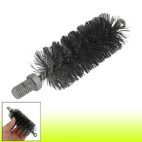 Wholesale 12mm Threaded mm Diameter Steel Wire Tube Brush Cleaning Tool