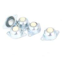 ball bearing units - 5 Pieces mm Hole mm Diameter Ball Metal Flange Transfer Unit Mounting Bearing