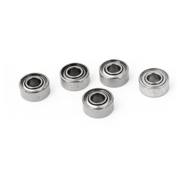 Wholesale 5Pcs ZZ mm x mm x mm Shielded Deep Groove Radial Ball Bearing