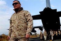 camouflage jacket - USMC CDJ camouflage MARPAT Dersert Combat Desert Jacket soft shell waterproof windproof outerwear with dust mask