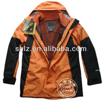 nylon windbreaker jacket - Mens Waterproof Jacket Nylon Breathable Windbreaker Winter Long Coat Hiking Wear Overcoat on sale