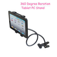 Wholesale New Arrival For Ipad Adjustable Degree Rotation Tablet Stand Holder Mount For Ipad Air For Car Desk Bed