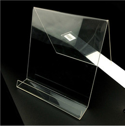 Wholesale Clear Acrylic Display Tablet Computer Camera Display Stand Holder Rack Bay blockMOX02