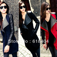 Womens Long Leather Coats Reviews | Leather Studded Watch Buying