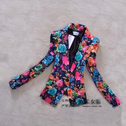 Discount Floral Blazer Plus Size Women | 2017 Floral Blazer Plus ...