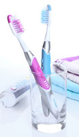 Wholesale Lit Pack Sonic Toothbrush Waterproof Electric Toothbrush tooth brush with Tongue Cleaner DuPont Bristle