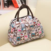 animal print handbags - New Fashion Lady Women Handbags Animal prints bag Polyester Totes color Lunch Bag